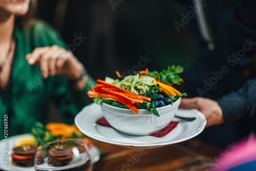 Foto Murales Vegetarian Dinner