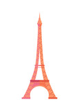 Gorgeous Eiffel Tower from Paris Made of Metal