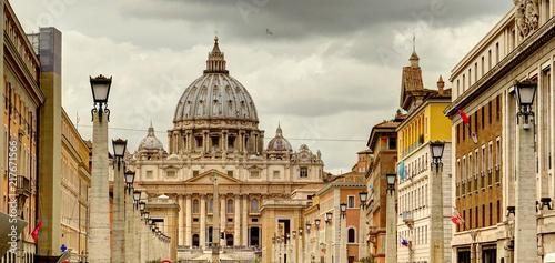 Poster Rome landmarks, Italy