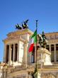 Quadro Rome landmarks, Italy