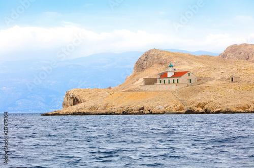 Chorwacja Wyspa Pryvić Latarnia Morska