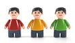 3D Figuren Gefühle und Emotionen