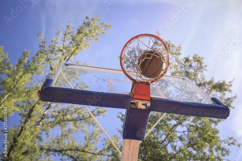 Foto Murales Basketball Hoop