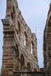Quadro Verona, Italy - July, 15, 2018: wall of arena de Verona, Italy
