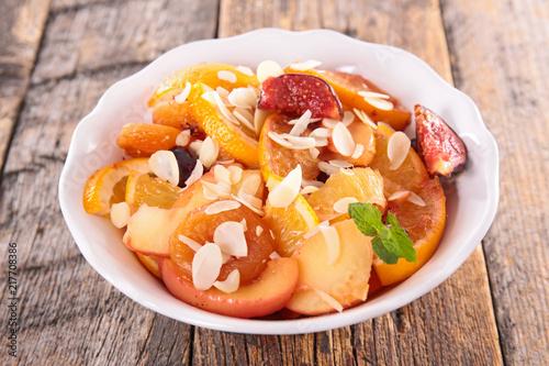 Foto Murales bowl of fruit salad