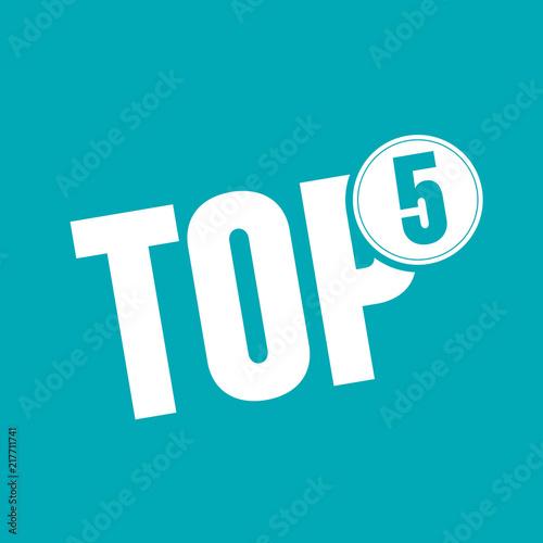 Obraz na płótnie Top 5