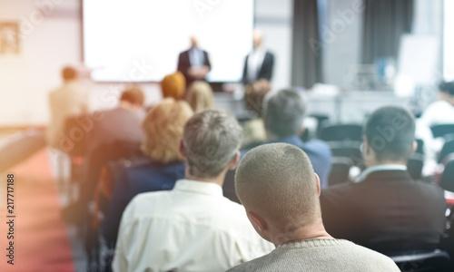 Leinwanddruck Bild People on the Conference room