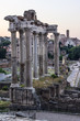 Quadro Roman ruins in early light