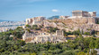 Panoramic view of the Acropolis, Athens, Greece