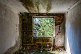 Fenster in altem Wohngebäude