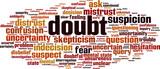 Doubt word cloud - 217737728