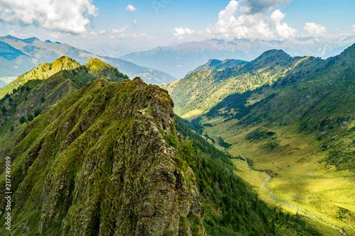 crinali e valli alpine