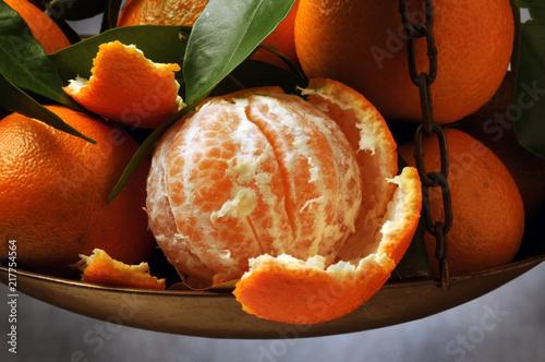 Foto Murales Citrus × clementina Clementine