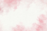 Pink watercolor abstract background. - 217755550