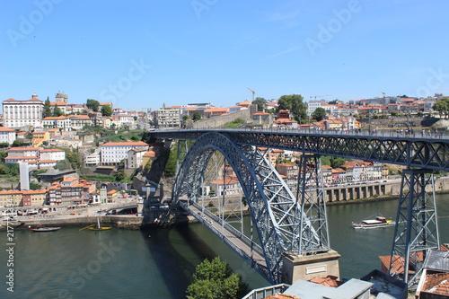 Naklejka La belle ville de Porto