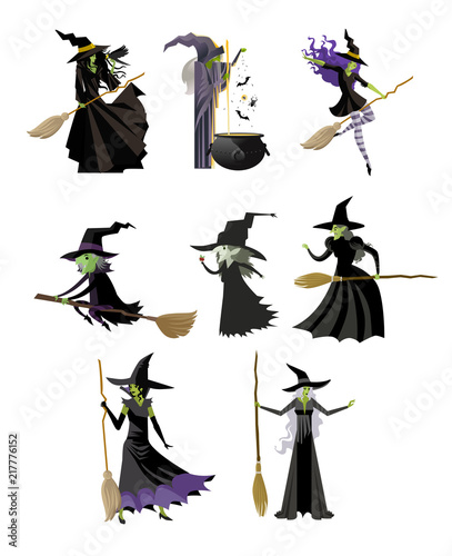 wicked witch villain - 217776152