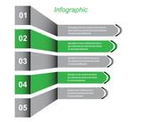 Info-graphic design template.