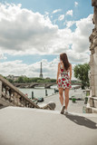 Summer dress in Paris