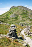 Path & Cairns to Mount Monroe