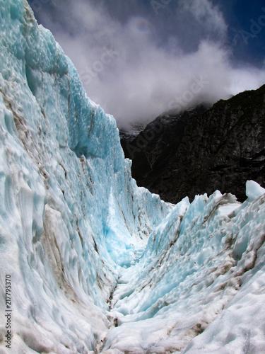 Foto Murales Blue Ice