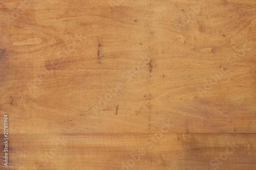 Distressed birch wood panel - 217811964