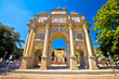 Quadro Piazza della Liberta square and Triumphal Arch of the Lorraine in Florence