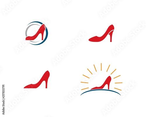 high heel logo vector template buy photos ap images detailview