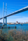 Die Rügenbrücke von Stralsund