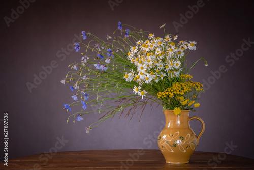 Foto Murales White chamomile