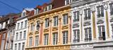Lille (France) / Façades dans le Vieux-Lille - 217899770