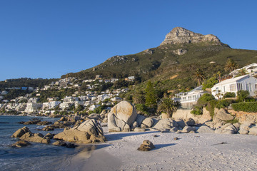 Cape Town Clifton beach lions head © Mathis