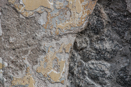 In de dag Stenen The texture of weathered stone wall