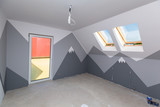Children room interior with mountain paint - 217935533