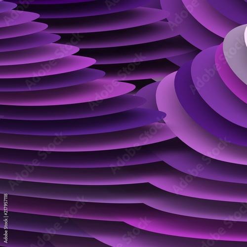 geometria-3d-w-kolorze-fioletowym