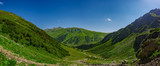 panorama of mountains, Arkhyz