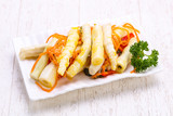 Pickled bamboo heap