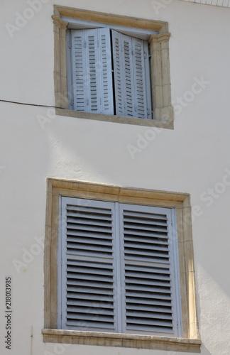 Foto Murales okna i okiennice