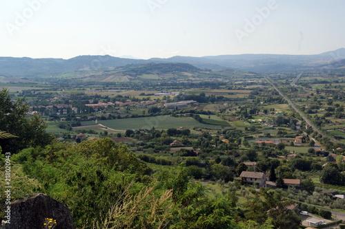 Sticker Italian landscape