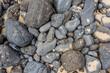 Quadro Rocks with sand on the beach