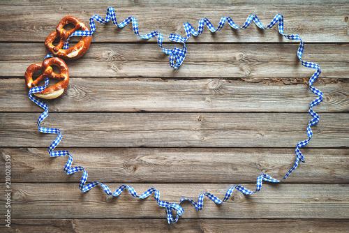 Rustic background for Oktoberfest - 218028359