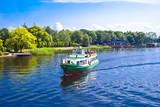 Fototapeta  - Ship on the Lake in Szczecinek - Landscape in Poland © Łukasz Blechman