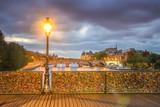 Paris - Pont des Arts first light