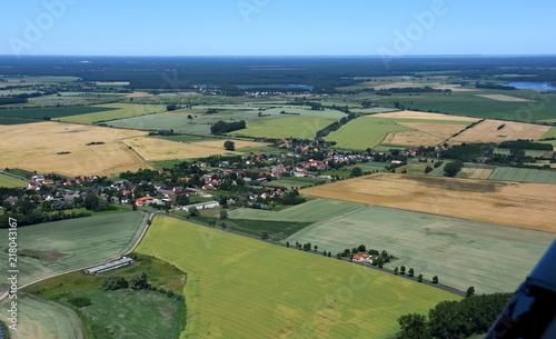 Sticker Zerrenthin zwischen Pasewalk und Löcknitz