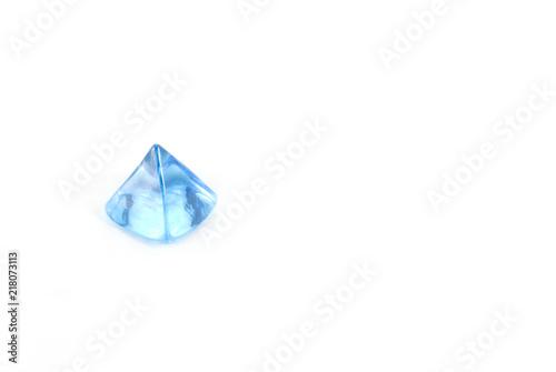 Prisma Azzurro Su Sfondo Bianco Buy Photos Ap Images Detailview