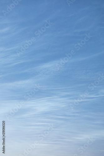 Foto Murales Beautiful night shining clouds background