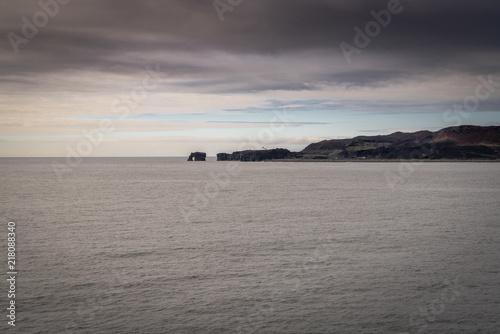 Canvas Zee zonsondergang Iceland