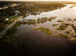 Aerial View of kissimmee Florida