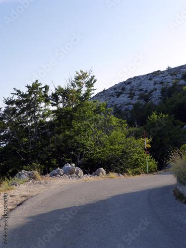 Straße im Nationalpark Biokovo - 218096783