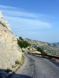 Straße im Nationalpark Biokovo