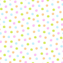 simple watercolor patterns on a white background